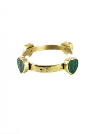 Bracelet  Jonc FALL IN LOVE - malachite