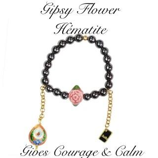 GIPSY FLOWER - HEMATITE