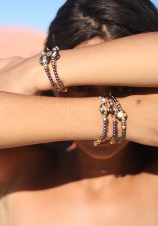 Bracelet CONSTELLATION SCORPIO- PINK