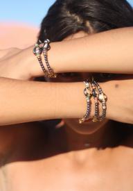 Bracelet CONSTELLATION SCORPIO- GREEN
