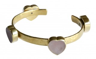 FALL IN LOVE - Brass & MOP Bracelet