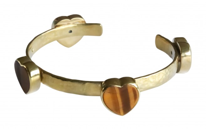 Bracelet  Jonc FALL IN LOVE - Nacre