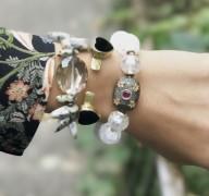 Bracelet  Jonc FALL IN LOVE - ONYX