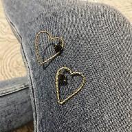 Boucles CRUSH - Tourmaline noire