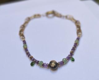 LUNA Necklace - Amethyst