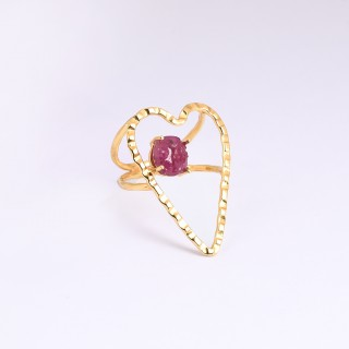 Bague CRUSH - Rubis