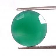 Short necklace - TINY PALOMA 40 - Green onyx
