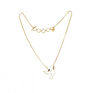 Collier court - TINY  PALOMA 40 - Zircon