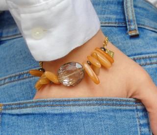 Bracelet CHIKI - Orange aventurine