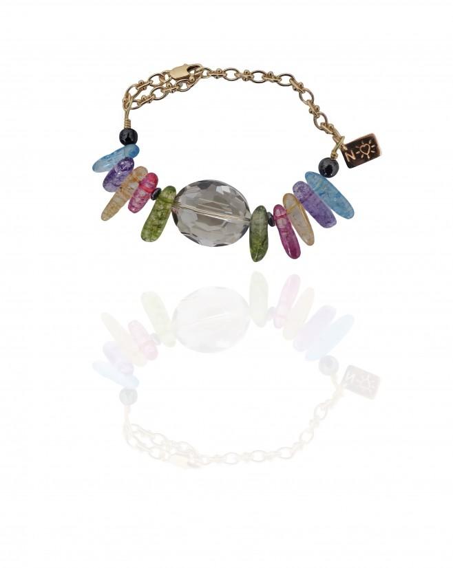 Bracelet CHIKI - Multicolor quartz