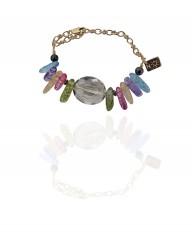 Bracelet CHIKI - Quartz multicolore