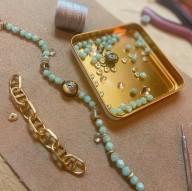 LUNA Necklace - amazonite