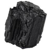 Sautoir ARGENTE  PALOMA 40 - Tourmaline noire