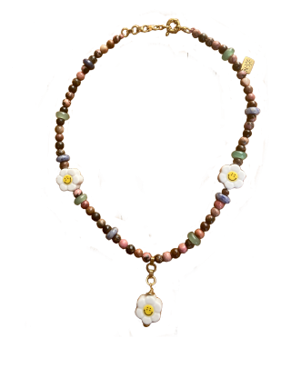 CHAYM Necklace - Rhodonite
