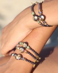 Bracelet Satelitte MOON - bleu