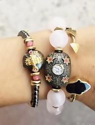 Bracelet CONSTELLATION SCORPIO  - PINK