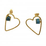 Earrrings Crush-Turquoise