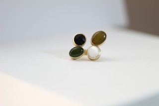 BAGUE  QUATTRO - GREEN POWER